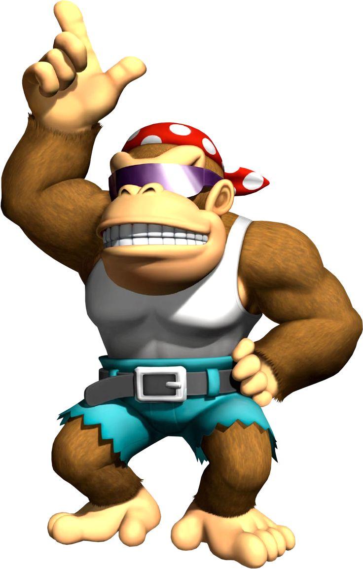Donkey kong mario kart wii car tuning - Funky Kong Donkey Kong Country Games Mario Kart Wii Nintendo