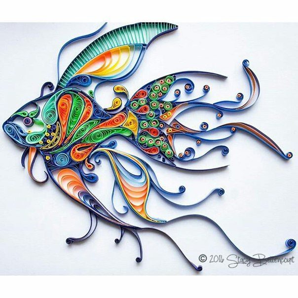 1000+ Images About Quilling_Fisch / Рыбы On Pinterest