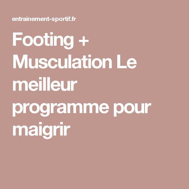1000+ ideas about Programme Pour Maigrir on Pinterest