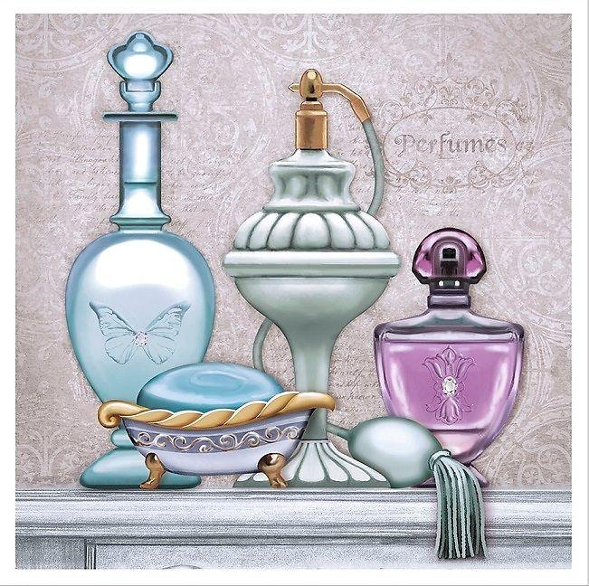 perfume bottles arte francés