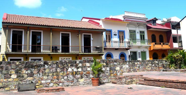 Panama City, casco antiguo, buildings, Panama, Central America