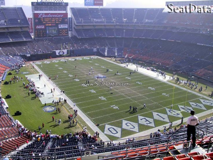 Qualcomm Stadium, Home to My Chargers