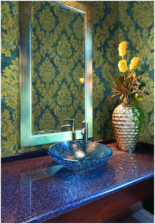 Choosing A New Bathroom Wallpaper Means More Than Deciding On The Right  Style And Color.