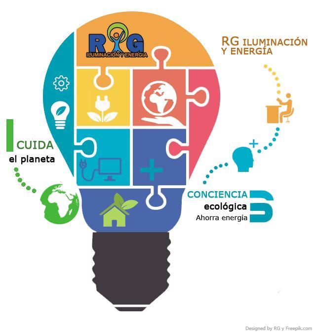 Conciencia Ecológica - RG Iluminación y Energía