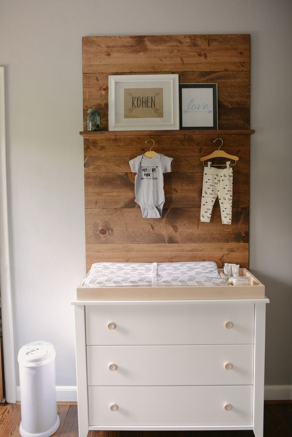 Arrow themed modern boys nursery