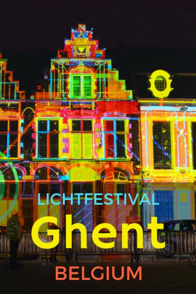 What's it like to visit Belgium's famous Lichtfestival? Ghent plays host to the famous light festival every 3 years and it's a sight to be behold!