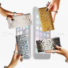 New Luxury Genuine Leather Flip Wallet Case Cover for Apple iPhone 6 Plus