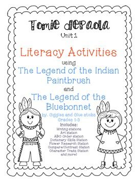 November: Tomie dePaola Unit- The Legend of the Bluebonnet and The Legend of the Indian Paintbrush