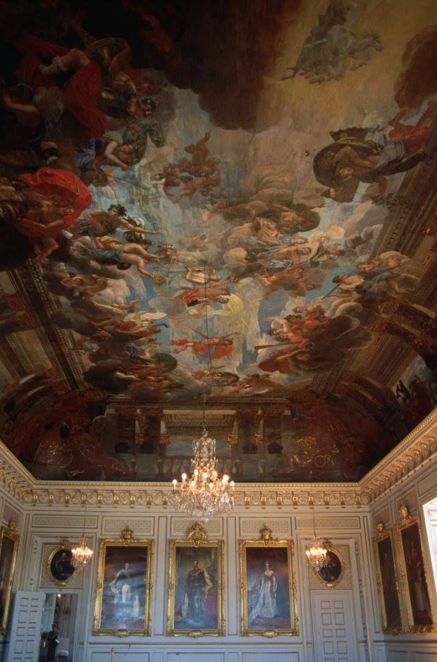 """Drottningholm Palace. Queen Silvia of Sweden believes the royal palace where she resides is haunted. """"There are small friends... ghosts. They're all very friendly but you sometimes feel that you're not completely alone,"""" Queen Silvia says in a documentary by pSVT."""