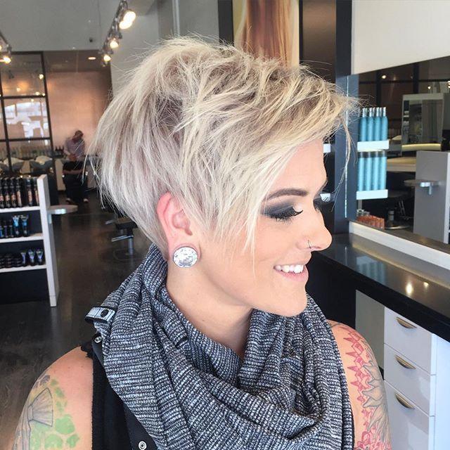 Peachy 1000 Ideas About Cute Pixie Haircuts On Pinterest Pixie Short Hairstyles Gunalazisus