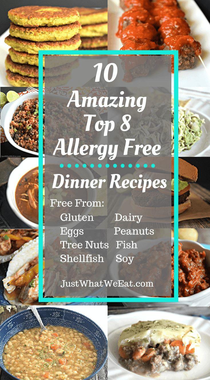 10 erstaunliche Top-8-Rezepte für ein allergiefreies Abendessen ~ Die folgenden Rezepte …   – mspi