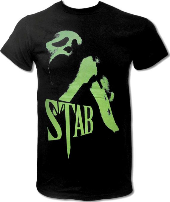 Stab T Shirt (Wes Craven's Scream) Horror Movie T Shirt (Director of Freddy Krueger, Nightmare on Elm Street) - Graphic Tees For Men & Women on Etsy, $15.99