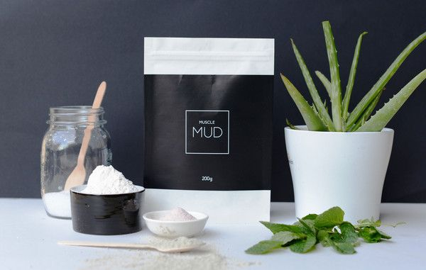 Muscle MUD - recovery bath & body mask