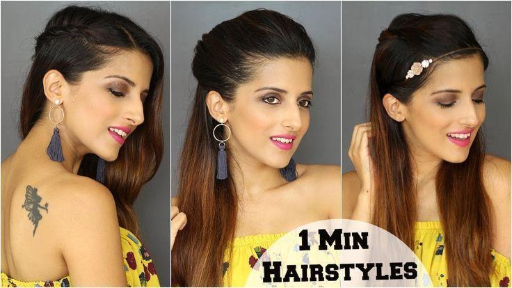 1 min de coiffures mignonnes et faciles tous les jours pour l'école, le collège, le travail / Rapide - #college #everyday #hairstyles #quick #school -