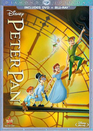 Peter Pan (Blu-ray/DVD, 2013, 2-Disc Set, Diamond Edition DVD/Blu-ray) | DVDs & Movies, DVDs & Blu-ray Discs | eBay!