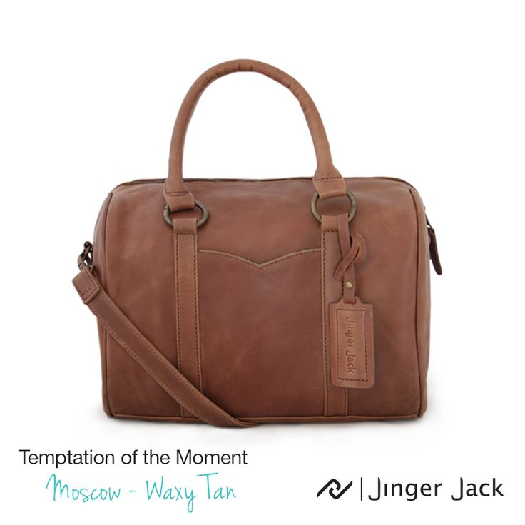 Temptation of the Moment. Jinger Jack MOSCOW in Waxy Tan!  ‪#‎NiceThingsOnEarth ‪#‎UniversalEleganceDESIGNEDinCapeTown‬ #LeatherHandbags