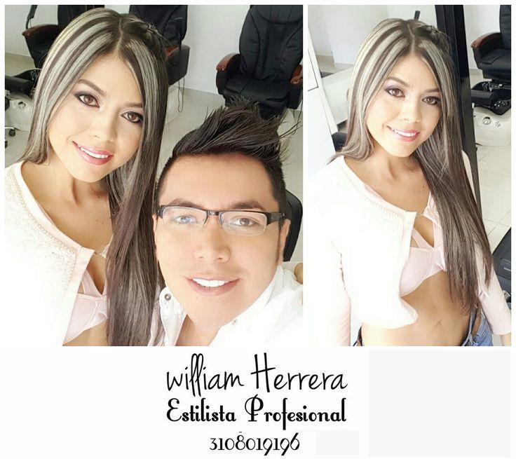 ¡Buenos días amigas! Hoy inicio con este lindo look de mi cliente que eligió para su cabello unas mechas rubias que le quedan súper bien para su tono de piel, además las complementó con un maquillaje suave muy sútil. Este look es ideal para que lo luzcas de día. ¡Ven y llénate de belleza y glamour con William Herrera, Estilista Profesional! #MakeUp #Maquillaje #Belleza #MAC #CaliCo #Cali #Colombia #CaliEsCali #Hermosas #Recogidos #Pro #Estilista #Profesional #Natural #Mujeres #Look #Style