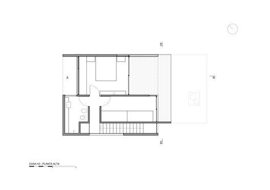 Casa H3,Planta 3