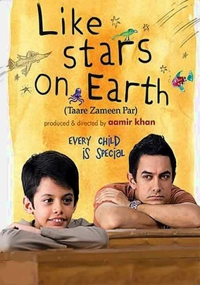 Like Stars on Earth (Taare Zameen Par)(2007)  Two words....Aamir Khan.  Troubled boy meets caring and inspirational teacher. Yes, it's been done been before, but seldom so well.   Aamir and Darsheel Safary (child actor with a world-class overbite) did a great job.