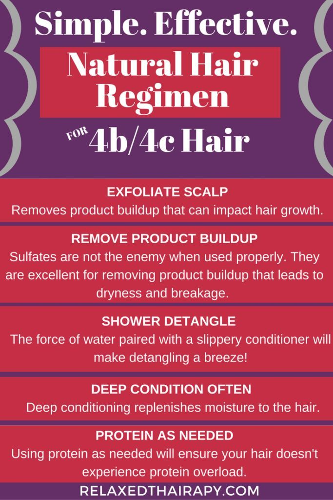 Simple yet effective natural hair regimen for grow…