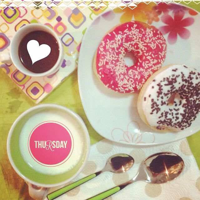It's always a goodmorning when you have donuts for breakfast!