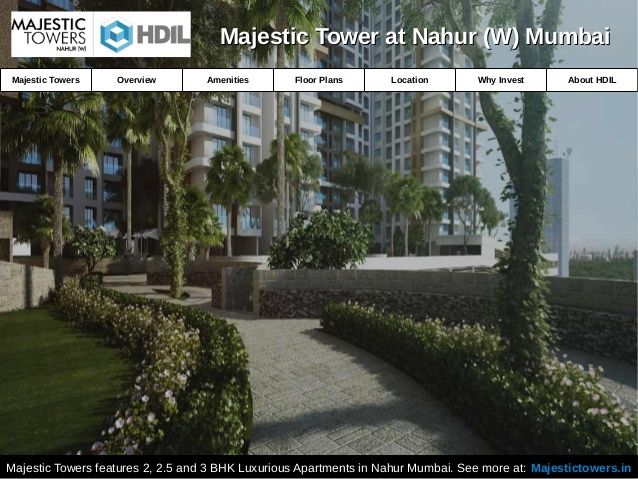 Luxurious Apartments for Sale in Nahur Mumbai | Majestic Towers