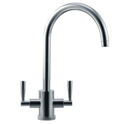 Franke Olympus Tap - Silk Steel at Homebase -- Be inspired and make your house a home. Buy now.