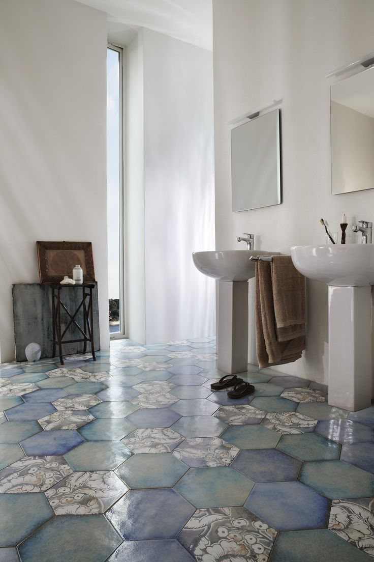 314 Best Images About Hexagon Handmade Tiles On Pinterest