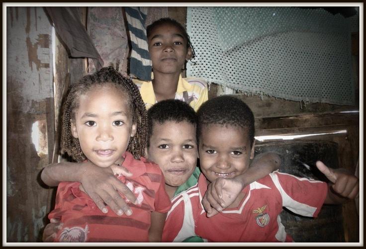 Niños en Cabo Verde