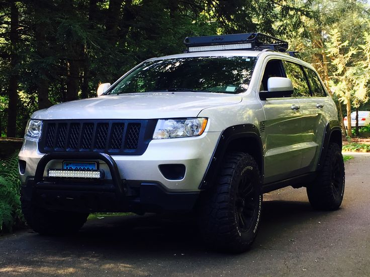 wk2 lifted wk2 cooper tires blacked out grand cherokee. Black Bedroom Furniture Sets. Home Design Ideas