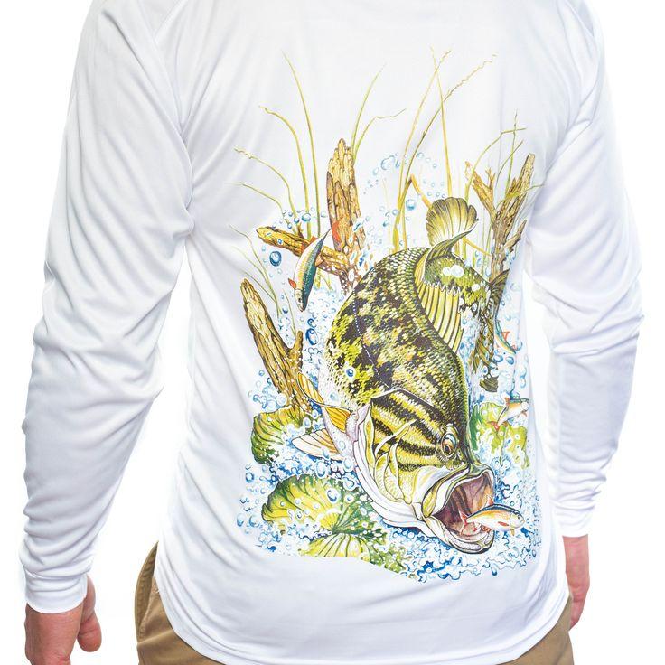 All american fishing performance dri fit comfort cooling for Dri fit fishing shirts