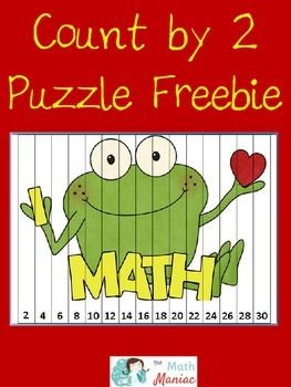 Count by 2 Puzzle Freebie