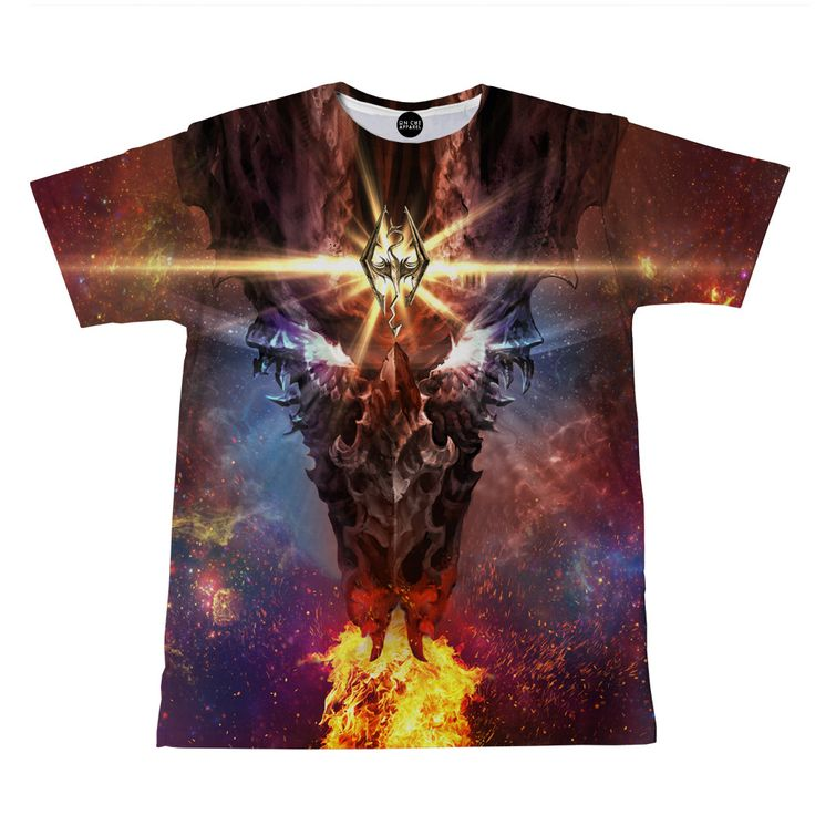Skyrim Dragon T-Shirt