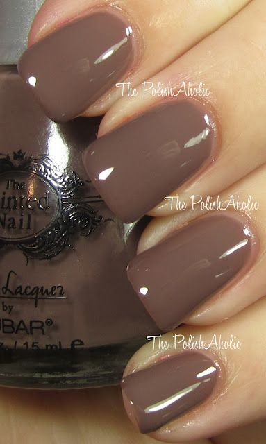 Taupe - 4 Allegra: Makeup Hair Nails, Mocha Nails, Fans, Colors, Nails Polish, Makeup Nails Hair, Brown Toe Nails, Nicole Style, Paintings Nails