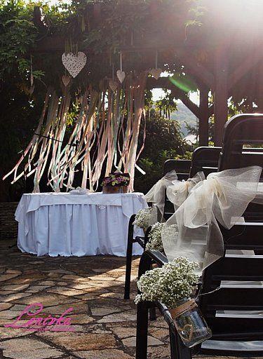 Vyzdoba obradu/ Wedding ceremony decoration