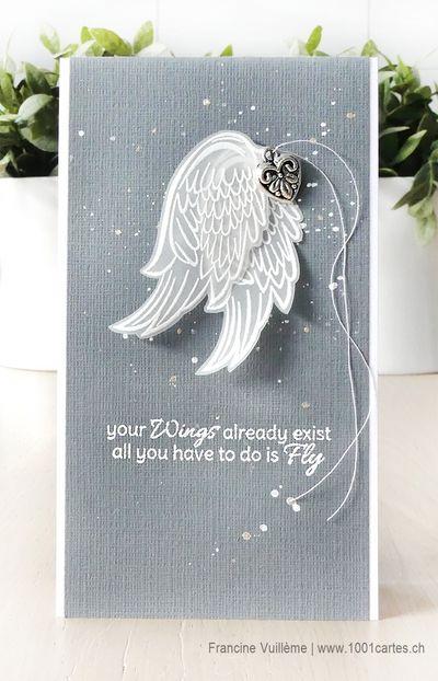 крылья ангела открытка своими руками года телеведущая ничего