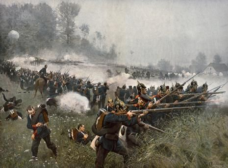 Battle of Königgrätz, 1866 / Röchling