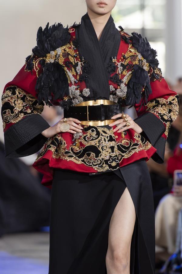 Défilé Elie Saab automne-hiver 2019-2020 Couture