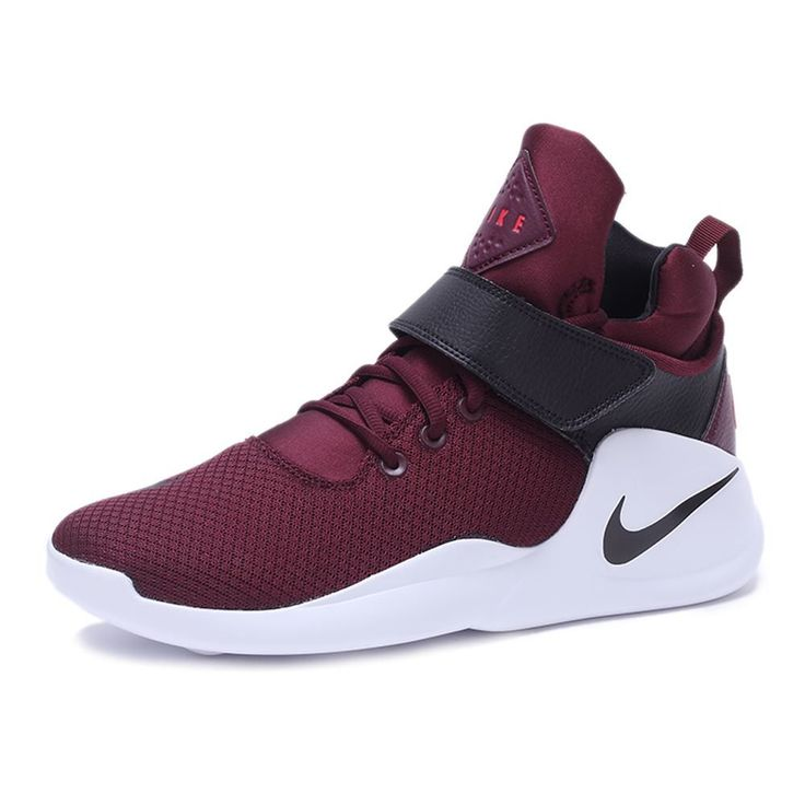 NIKE KWAZI NIGHT MAROON BLACK BASKETBALL SHOES 844839 600  US$147.00
