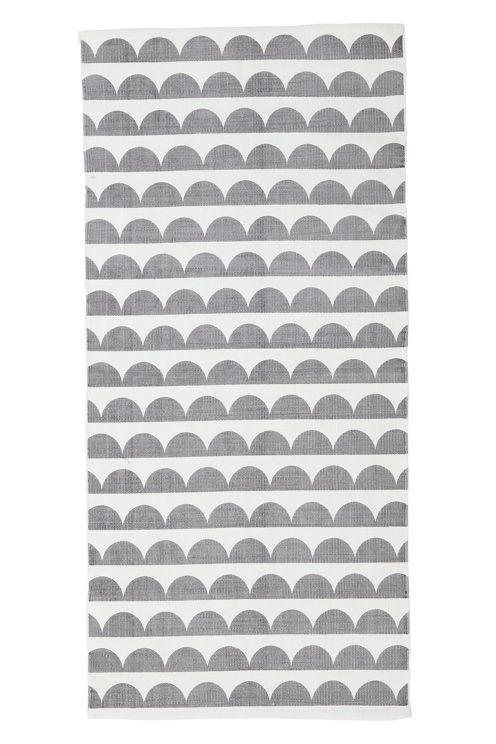 Painettu, retrohenkinen kuvio. Puuvillaa. Pesu 40°. Koot 70x250 cm.<br><br>Saat lisäturvaa ja -mukavuutta, kun levität maton alle liukuestematon, joka pitää maton napakasti paikallaan. Valikoimassamme on erikokoisia liukuestemattoja. <br> <br><br>100% puuvillaa<br>Pesu 40°