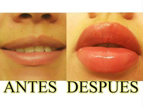Cómo tener labios más GRUESOS y GRANDES sin cirugía⎢Maquillaje de labios ⎢Day Arvizu♡ - YouTube