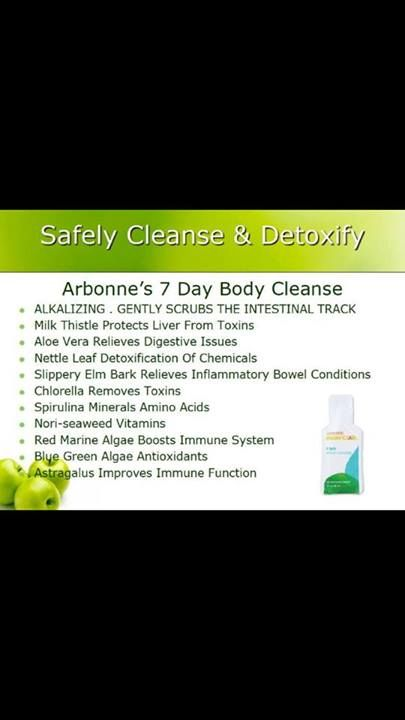 Arbonne's Gentle 7 Day cleanse and detox now available in Canada! Contact me on facebook to learn more