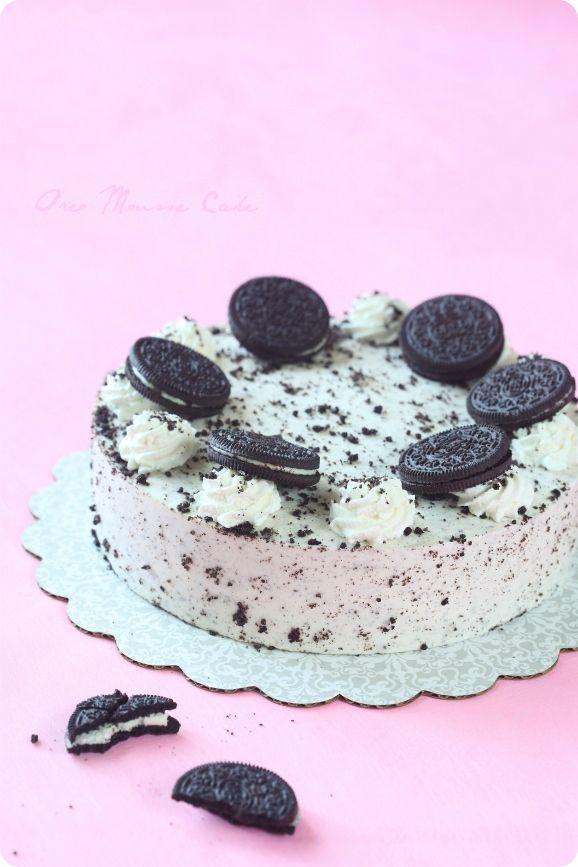 "Verdade de sabor: Gâteau mousse ""Oreo"" / Torta ""Oreo"""