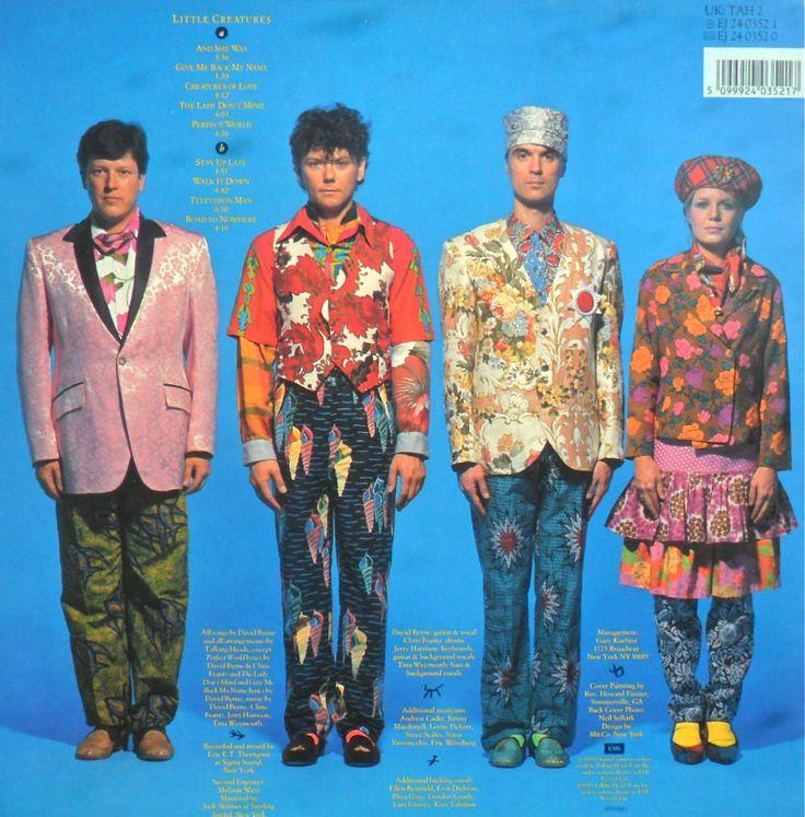 Talking Heads Little Creatures 1985 服装 Tim 233 E、new