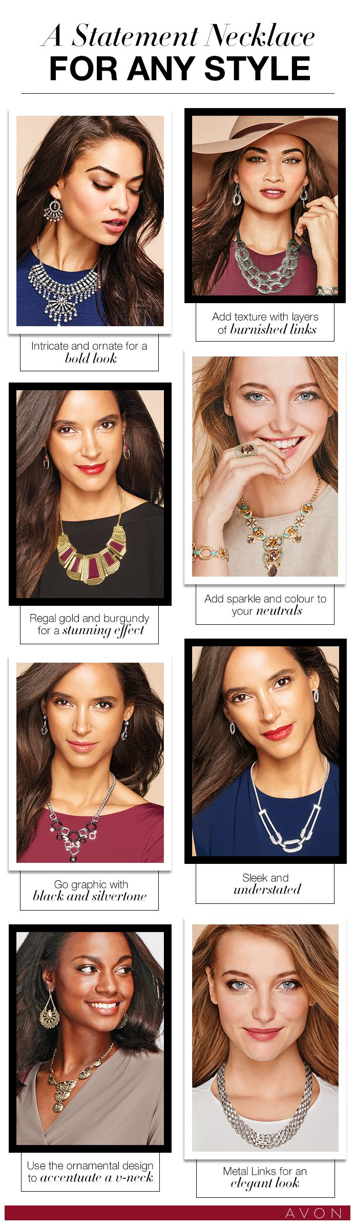 There's a statement necklace for any style #AvonCanada