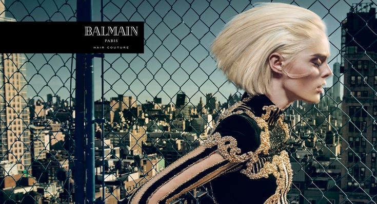 Coco Rocha stars in Balmain Hair Couture Icons 2016 campaign