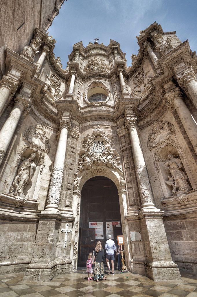 Puerta de los Hierros, Catedral de Valencia (Valencia - Spain)