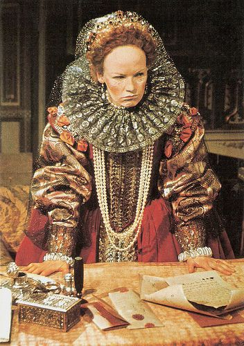 Elizabeth R (BBC 1973) with Glenda Jackson as Elizabeth I queen of England