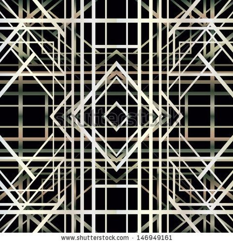 art deco geometric pattern | home decorations | Pinterest