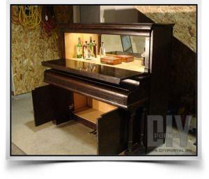 DIYportal.ru - для любителей творить!   Пианино-бар   http://diyportal.ru